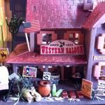 【ミニチュア】ビリー 手作りドールハウスキットの制作風景 ウエスタンパブ